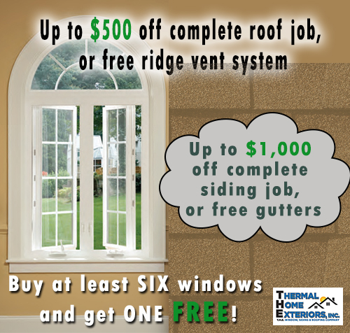 Windows Webster Exteriors Inc: Thermal Home Exteriors, Inc. Windows, Siding, Roofing